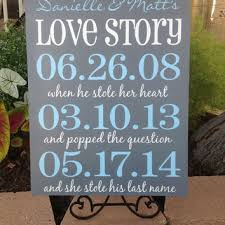 shop wedding date signs on wanelo Wedding Date On Canvas personalized wedding love story important date sign large 16x20, wedding decor , anniversary castle wedding date canvas