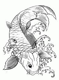 Small Picture Amazing Koi Fish Coloring Page 68 With Additional Line Drawings