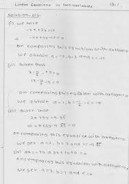 rd sharma solutions for class 9 chapter 13 linear equations in two