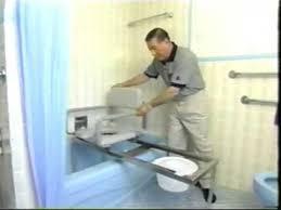patented bathtub transfer bench