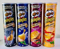 Pringles-Editionen endlich vollständig: Dinner Party und Rice Fusion