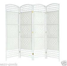 room divider screen ebay uk. wicker hand made room divider partition privacy screen - white 4/6 panels room divider screen ebay uk s