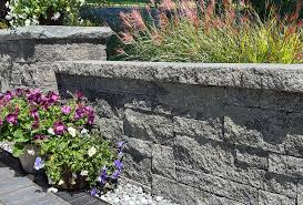 retaining wall options for a natural effect in your st louis landscape