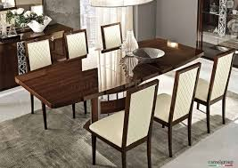 High Gloss Dining Table Dining Table In High Gloss Walnut By Esf W Options