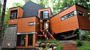Houses Out Of Shipping Containers In Most Impressive Container Canada  Youtube