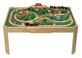 Train Set Table With Drawers The Wooden Train Table For Your Lovely Kids Dicksterling Table
