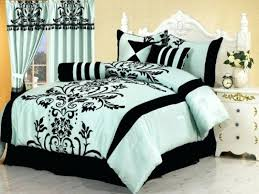 full size of light blue and black comforter set sets white bedding queen bed with arch