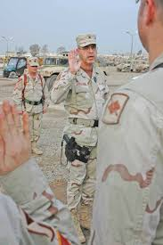DVIDS - Images - Brig. Gen. Ron Chastain swears in a group of ...