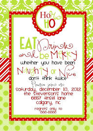 Template For Christmas Party Invitation Sample Christmas Party Invitation Wording Holiday Samples Of