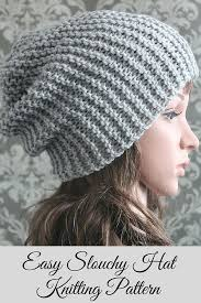 Child Knit Hat Pattern Unique Knitting PATTERN Easy Beginner Knit Slouchy Hat Pattern Knitting