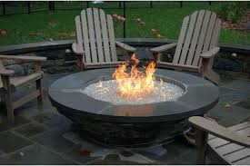 marvelous diy natural gas fire pit in outdoor fireplace round table pertaining to plan 19
