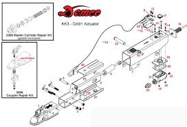 tow dolly, kar kaddy 3, da91 actuator detachable vehicle-in-tow towing lights at Tow Dolly Wiring Diagram