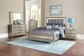 Coolest Bedroom Set With Mirror Headboard Alluring Bedroom Design