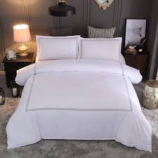 details about 100 egyptian cotton duvet covet sets white 1000 thread count us queen king size