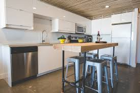 Horizontal Kitchen Wall Cabinets A Bright And Warm White Ikea Kitchen In Yellowknife Canada