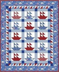 116 best QUILTS- SAILBOATS etc images on Pinterest | Modeling ... & Sailboat Quilt Pattern Adamdwight.com