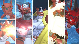 Digimon Evolution Chart Guilmon Digimon Story Cyber Sleuth Hackers Memory Guilmon