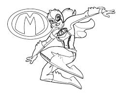 Mega Mindy Kleurplaat Online
