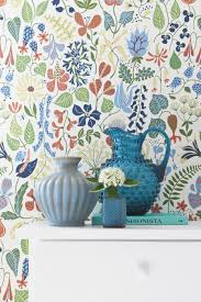 ... Engaging Home Interior Wall Decor With Scandinavian Wallpaper Design :  Fancy Picture Of Living Room And ...