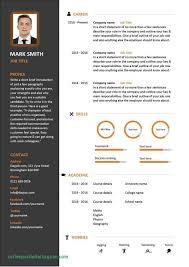 Basic Free Modern Resume Templates Templates Word | Resume Template