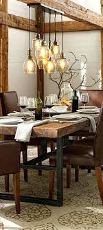 rustic industrial lighting fixture more dining room chandeliers