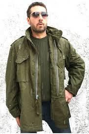 100 cotton silver zipper m65 od field jacket armynavys army navy s