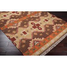 full size of home design orange and brown rugs hand woven southwestern aztec agora hard twist