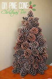 Holiday How To Pine Cone Christmas Tree U2013 Any Second NowPine Cone Christmas Tree Craft Project