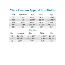 Vince Camuto Dress Size Chart Vince Camuto New Navy Blue Womens Size 0 Cropped Slim Dress Pants