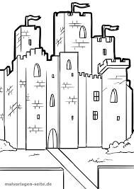 Kleurplaat Ridder Kasteel