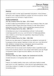 Resume Builder Resume Cv Cover Letter