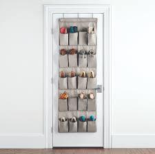 20-Pocket Eco-Fabric Over the Door Shoe Bag ...