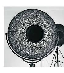 pallucco lighting. Riproduzione Della Piantana Pallucco Fortuny Con Struttura In Acciaio Al Carbonio E Paralume Alluminio Lighting