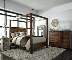 Canopy King Bed Solid Wood Canopy Bed King Black King Canopy Bedroom ...