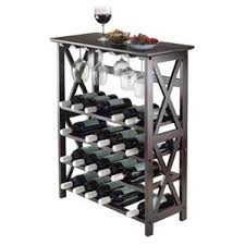 Sari 24 Bottle Floor Wine Rack