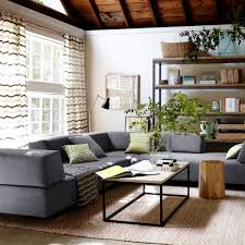 West Elm Living Room West Elm Tillary This Layout Might Work Too Pull Away From The