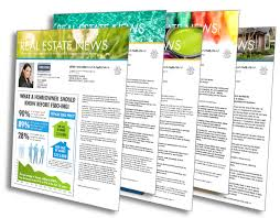 Real Estate Newsletter Template Realtor Newsletter Templates ProspectsPLUS 2