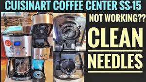 We're going to pitch it even though it was quite expensive as coffee makers go. How To Fix Cuisinart Coffee Center Not Brewing Coffee On K Cup Side Ss 15 Clean Needles Youtube