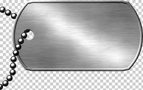 dog tag military army blank tag transpa silver dog tag pendant png clipart