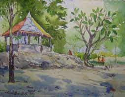 indian landscape paintings landscape paintings by indian artists drawing pencil