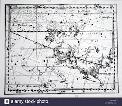 Chart Showing The Constellation Of Aquarius And Capricorn