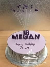 3d Name And Heart Spray Birthday Cake The Cake Guru