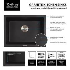 Best Composite Granite Kitchen Sinks Kitchen Bathroom Furniture Interior Kitchen Sink Brands Black