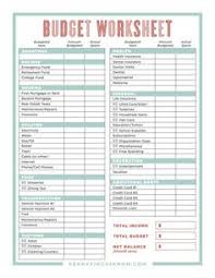 Printable Spreadsheets Expense Printable Forms Worksheets Charts Business Budgeting
