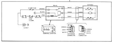 auto antenna wiring diagram auto wiring diagrams online more diagram like power antenna for 1979 gmc