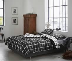 single comforter sets australia   Graysonline & Printed Quilt Cover Set Black/White Check - KING Adamdwight.com