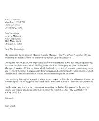 How To Make A Generic Cover Letter Sample General Cover Letter For