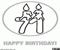 Disegni Di Auguri Compleanno Buon Compleanno Da Colorare E Stampare 5