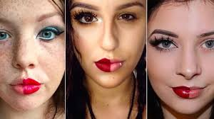 these power of makeup insram photos are making an important point about beauty