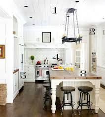 dreamy white farmhouse kitchen